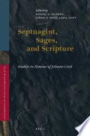 Septuagint Sages And Scripture
