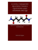 Pdf A Level Chemistry Multiple Choice Questions and Answers (MCQs) Telecharger