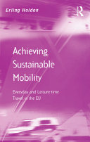 Achieving Sustainable Mobility Book