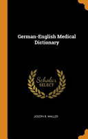 German English Medical Dictionary