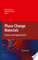 Phase Change Materials Book