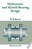 Hydrostatic and Hybrid Bearing Design Book