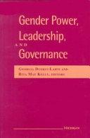 Gender Power, Leadership, and Governance
