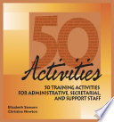 50 Activities for Administrative  Secretarial  and Support Staff