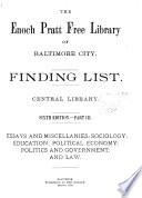 Finding List