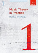 Music Theory in Practice Book