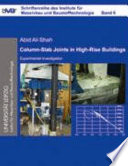 Experimental Investigation of Column Slab Joints in High-rise Buildings