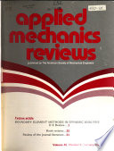 """Applied Mechanics Reviews"" by American Society of Mechanical Engineers"