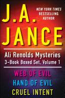 J.A. Jance's Ali Reynolds Mysteries 3-Book Boxed Set