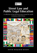 Street Law And Public Legal Education