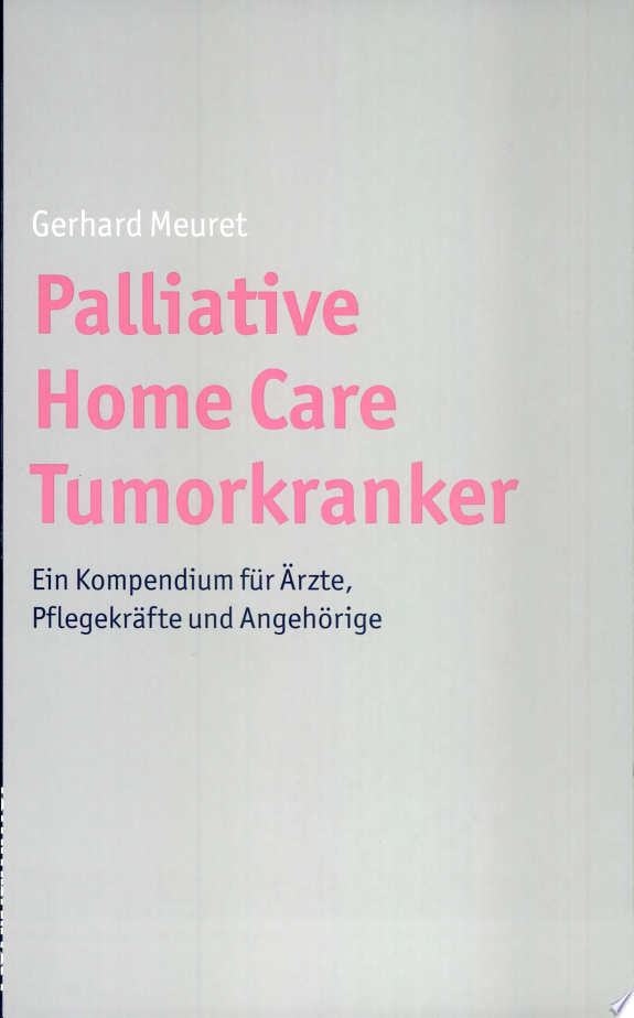 Palliative Home Care Tumor-