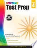 Spectrum Test Prep, Grade 4