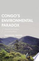 Congo s Environmental Paradox