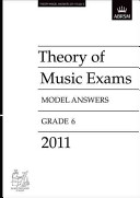 Theory Music Exam Model Answers 2011 Gr6