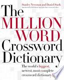 The Million Word Crossword Dictionary PDF