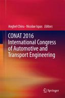 CONAT 2016 International Congress of Automotive and Transport Engineering [Pdf/ePub] eBook