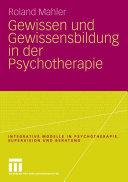 Pdf Gewissen und Gewissensbildung in der Psychotherapie Telecharger