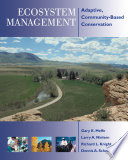 Ecosystem Management Book