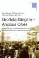 Anxious cities