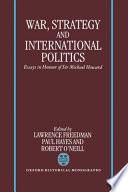 War, Strategy, and International Politics