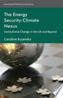 The Energy Security Climate Nexus