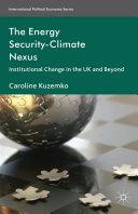 The Energy Security-Climate Nexus