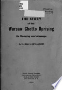 The Story of the Warsaw Ghetto Uprising