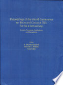 Proceedings Of The World Conference On Palm And Coconut Oils For The 21st Century Book PDF