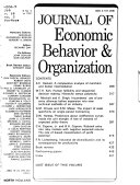 Journal of Economic Behavior   Organization