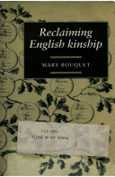 Reclaiming English Kinship