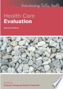 Ebook Health Care Evaluation