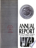 Annual Report Of The Attorney General For The Year
