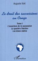 Pdf Le droit des successions au Congo Telecharger
