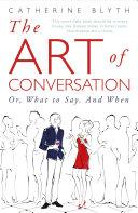 The Art of Conversation Pdf/ePub eBook