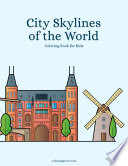 City Skylines of the World Coloring Book for Kids 1