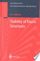 Stability Of Elastic Structures Book PDF