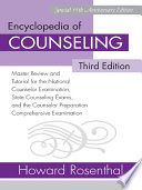 Encyclopedia of Counseling Book