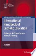International Handbook of Catholic Education
