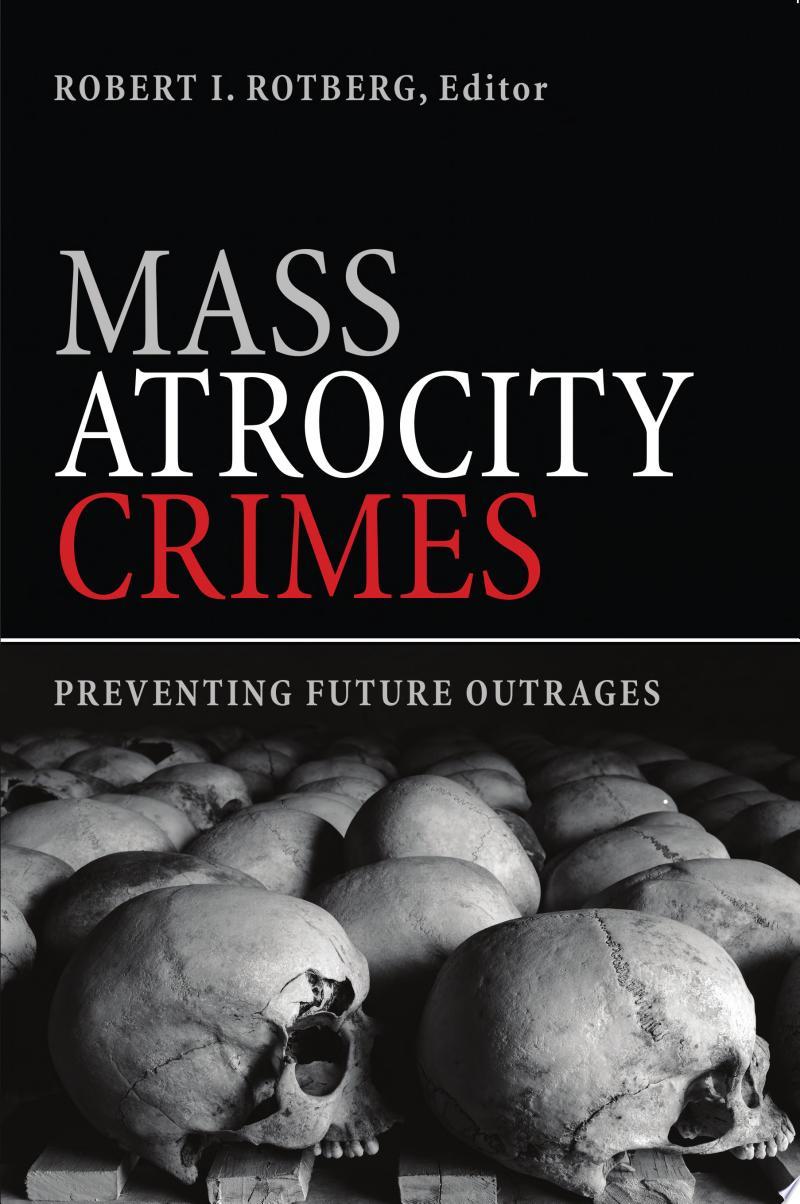 Mass Atrocity Crimes banner backdrop
