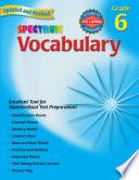 Vocabulary, Grade 6