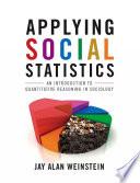 Applying Social Statistics