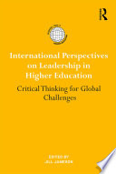 International Perspectives on Leadership in Higher Education Book