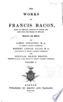 Works Of Francis Bacon