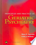 Principles And Practice Of Geriatric Psychiatry Book PDF