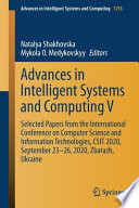 Advances in Intelligent Systems and Computing V