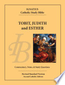 Tobit  Judith  and Esther Book PDF