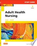 Study Guide for Adult Health Nursing   E Book