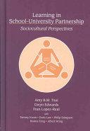Learning in School university Partnership