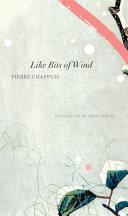 Like Bits of Wind Book