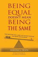 Being Equal Doesn t Mean Being the Same Book PDF
